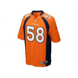 Jersey Nike NFL Denver Broncos Von Miller para caballero - Envío Gratuito
