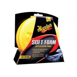 Paquete de esponjas aplicadoras Meguiar's amarillo - Envío Gratuito