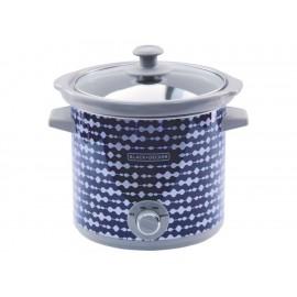 Black & Decker Olla de Cocimiento Lento 4 L Azul - Envío Gratuito