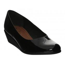 Zapato wedge Suave Pies negro - Envío Gratuito