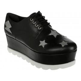 Zapato bostoniano Arezzo negro - Envío Gratuito