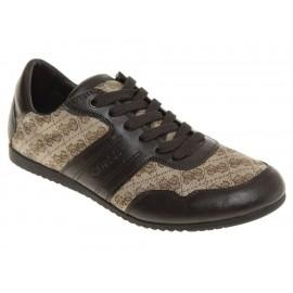 Guess Zapato Triston Quilted Logo con Agujeta Café - Envío Gratuito