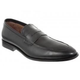 Zapato mocasín Perry Ellis piel negro - Envío Gratuito