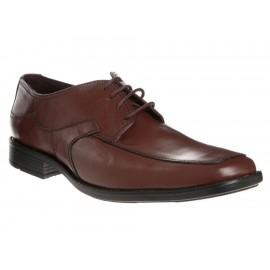 Zapato derby JBE piel café - Envío Gratuito