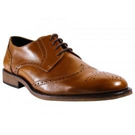 Zapato bostoniano Fenutti piel cognac - Envío Gratuito