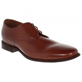 Zapato derby Perry Ellis piel cognac - Envío Gratuito