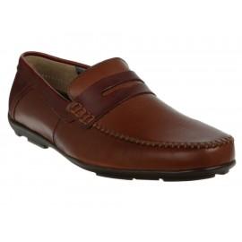 Zapato driver Flexi piel marrón - Envío Gratuito