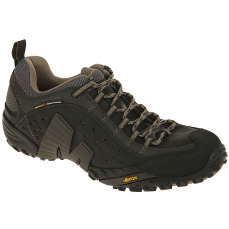 Merrell Bota Intercept Smooth Negro - Envío Gratuito