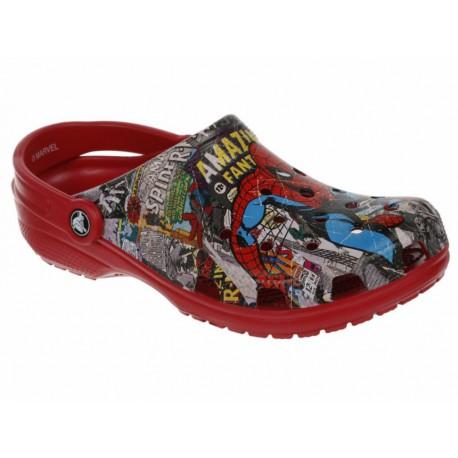 Sandalia Crocs Classic Spider Man - Envío Gratuito