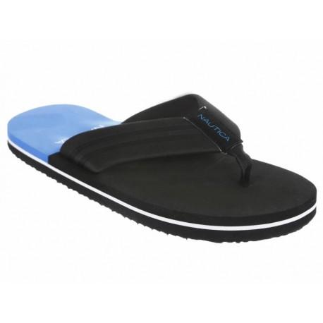 Sandalia Nautica negra - Envío Gratuito