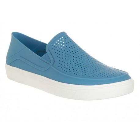 Sandalia Crocs Roka Dusty azul plumbago - Envío Gratuito