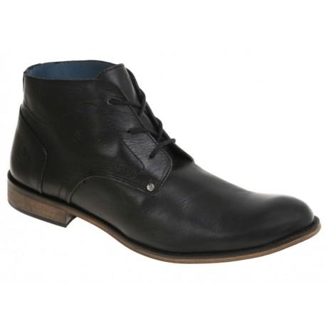 Paruno Zapato Med Bota Negro - Envío Gratuito