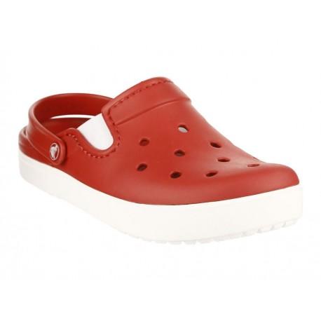 Crocs Sandalia City Sneaks M Pepper Rojo - Envío Gratuito