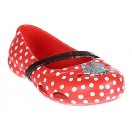 Flat Crocs sintético para niña - Envío Gratuito