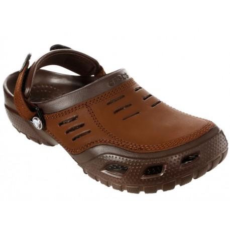 Crocs Sandalia Yukon Sport Chocolate - Envío Gratuito