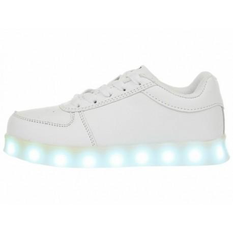 XBLINKS Tenis con luces de LED recargable agujeta unisex - Envío Gratuito