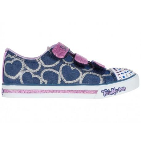 Tenis Skechers Twinkle Toes para niña - Envío Gratuito