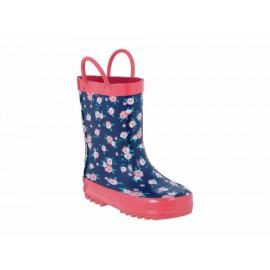 Botas para lluvia Mon Caramel sintético para niña - Envío Gratuito