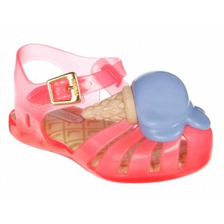 Sandalia Mini Melissa sintética para niña - Envío Gratuito