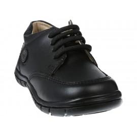 Zapato liso Coloso con fijación de agujeta para niño - Envío Gratuito