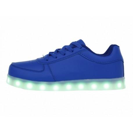 XBLINKS Tenis con luces de LED recargable agujeta para niño - Envío Gratuito