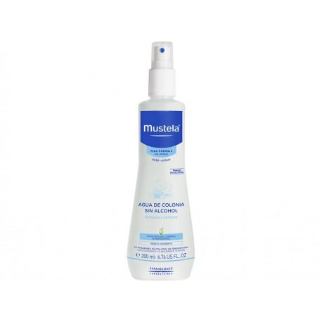 Agua de colonia para piel y cabello Mustela 200 ml - Envío Gratuito