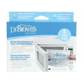 Dr. Brown's Bolsas Esterilizadoras para Microondas - Envío Gratuito