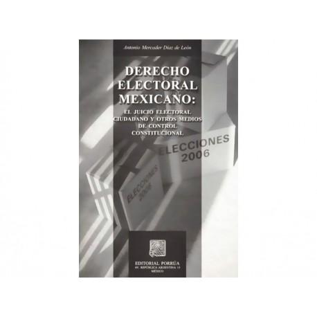 Derecho Electoral Mexicano - Envío Gratuito