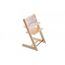 Cojín para silla alta Stokke Trip Trapp de algodón rosa - Envío Gratuito