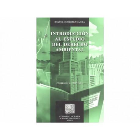 Introduccion Al Estudio del Derecho Ambiental - Envío Gratuito