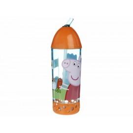 Peppa Pig Vaso Estampado con Popote - Envío Gratuito