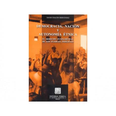 Democracia Nación y Autonomía Étnica - Envío Gratuito