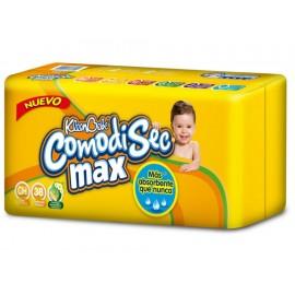 Pañales Kleenbebé Comodisec Max chico 38 piezas - Envío Gratuito