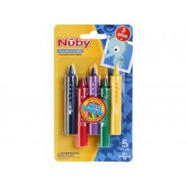 Nuby Crayones para Baño - Envío Gratuito