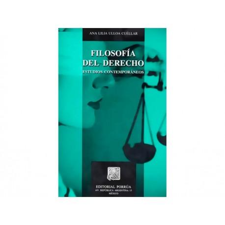 Filosofía del Derecho Estudios Contemporáneos - Envío Gratuito