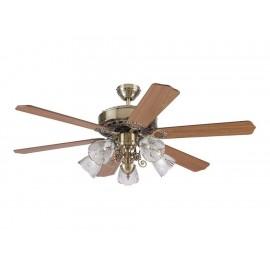 Ventilador de techo Westinghouse 78112 dorado - Envío Gratuito