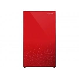 Daewoo Frigobar 113 Litros 4P3 Rojo Espejo FR 15D - Envío Gratuito