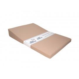 Colchón para cuna Mon Caramel Velour 65 cm x 95 cm beige - Envío Gratuito