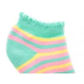Calcetines Punto Blanco de algodón para niña - Envío Gratuito