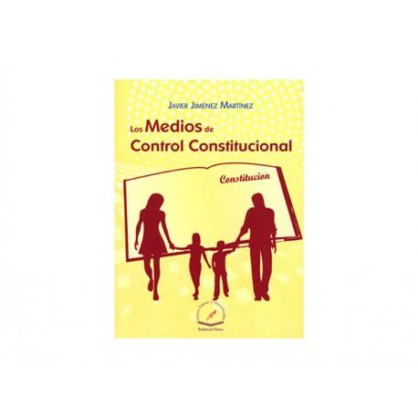Los Medios de Control Constitucional - Envío Gratuito