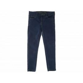 Piquenique Jeans Liso para Niña - Envío Gratuito