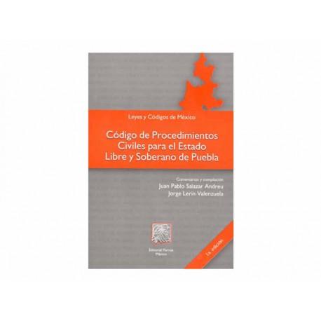 Código de Procedimientos Civiles para el Estado Libre y Soberano - Envío Gratuito