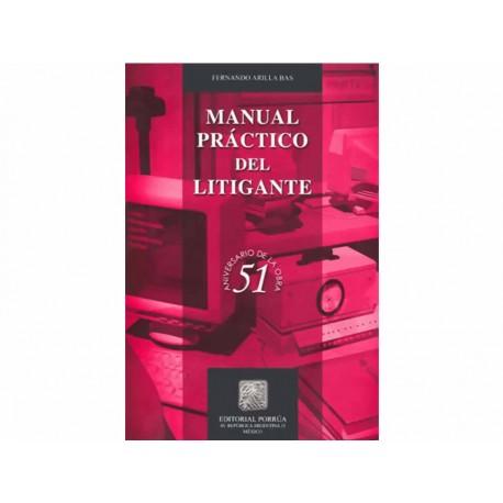 Manual Práctico del Litigante - Envío Gratuito