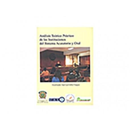 Análisis Teórico Práctico de Las Instituciones del Sistema - Envío Gratuito