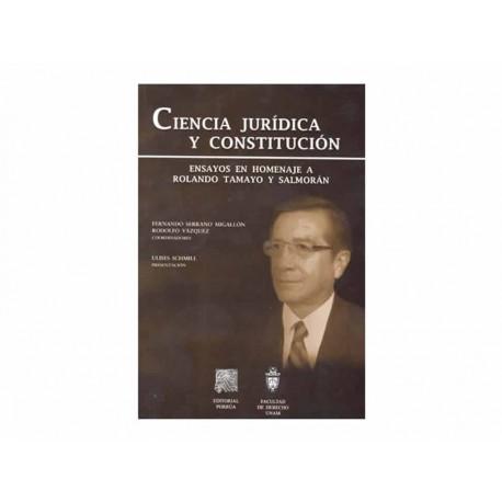 Ciencia Jurídica y Constitución - Envío Gratuito