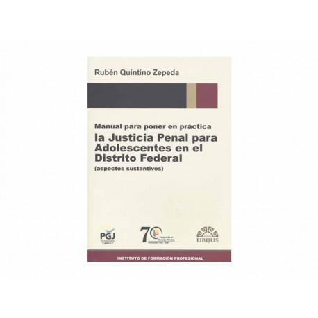 Manual para Poner en Práctica la Justicia Penal para Adoles - Envío Gratuito